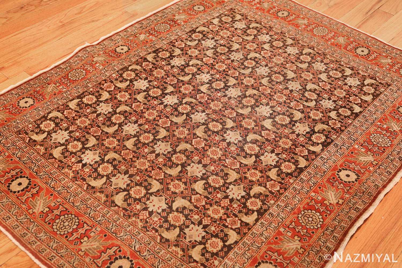 fine antique persian tabriz rug 42699 side Nazmiyal