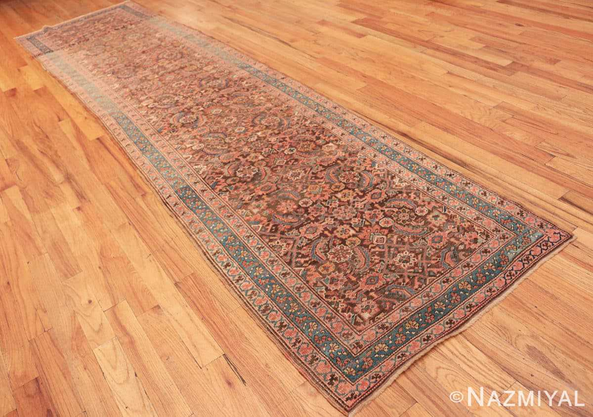 Full Antique Bakshaish Persian runner rug 42365 by Nazmiyal