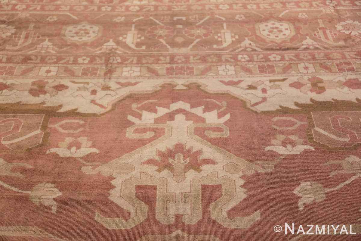 Large Antique Indian Amritsar Rug 41047 Closer Look Nazmiyal