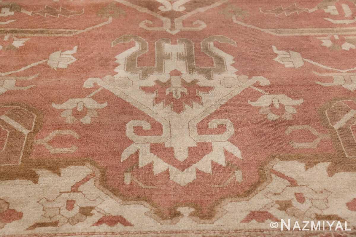Large Antique Indian Amritsar Rug 41047 Lower Tiara Nazmiyal