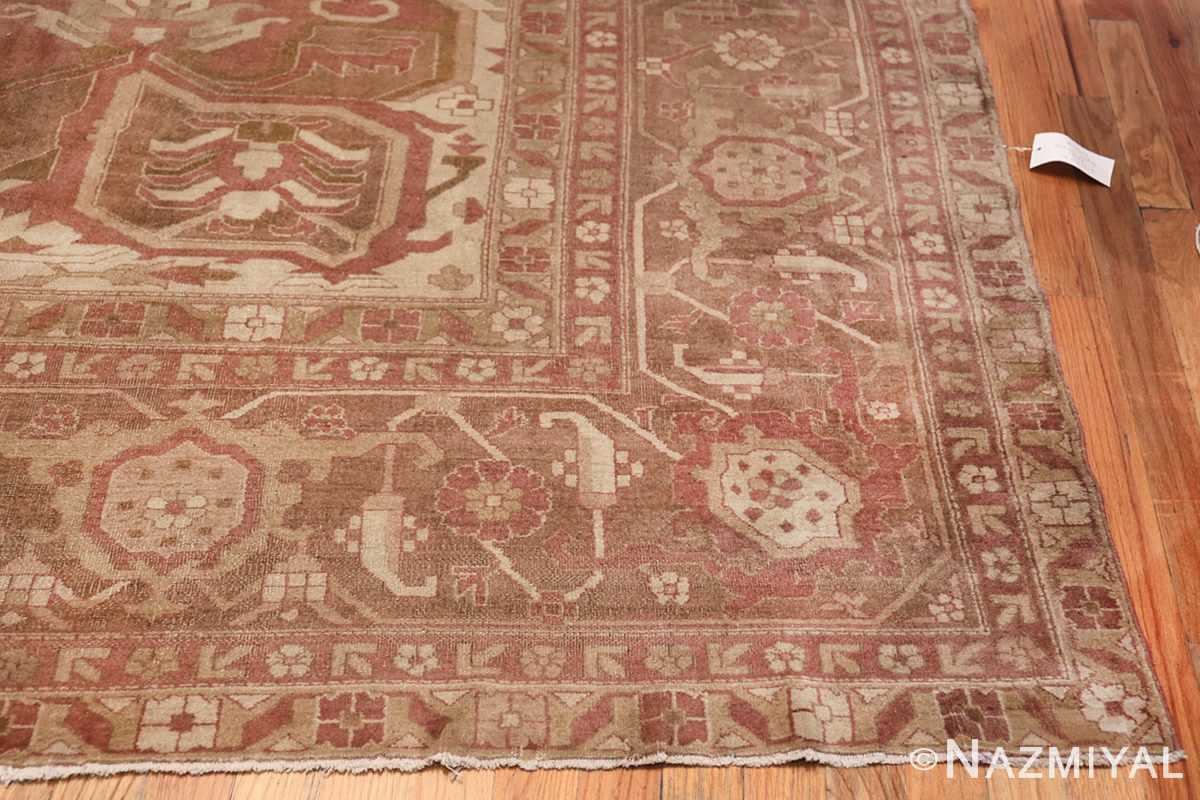 Large Antique Indian Amritsar Rug 41047 Side Corner Nazmiyal