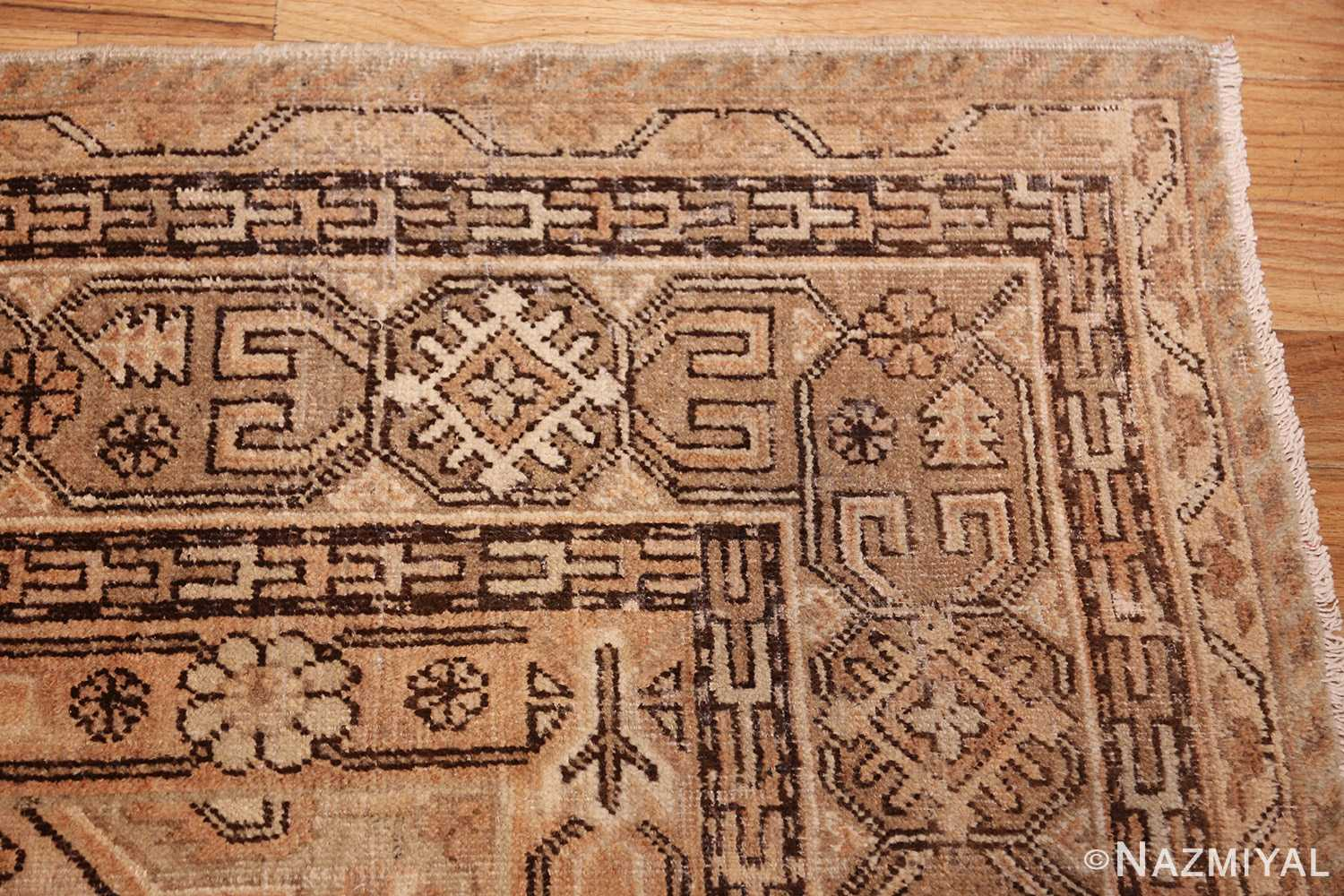 large antique khotan rug 42383 corner Nazmiyal