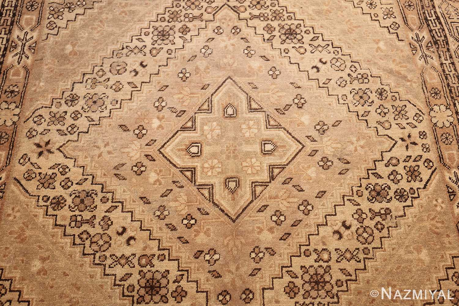 large antique khotan rug 42383 medallion Nazmiyal