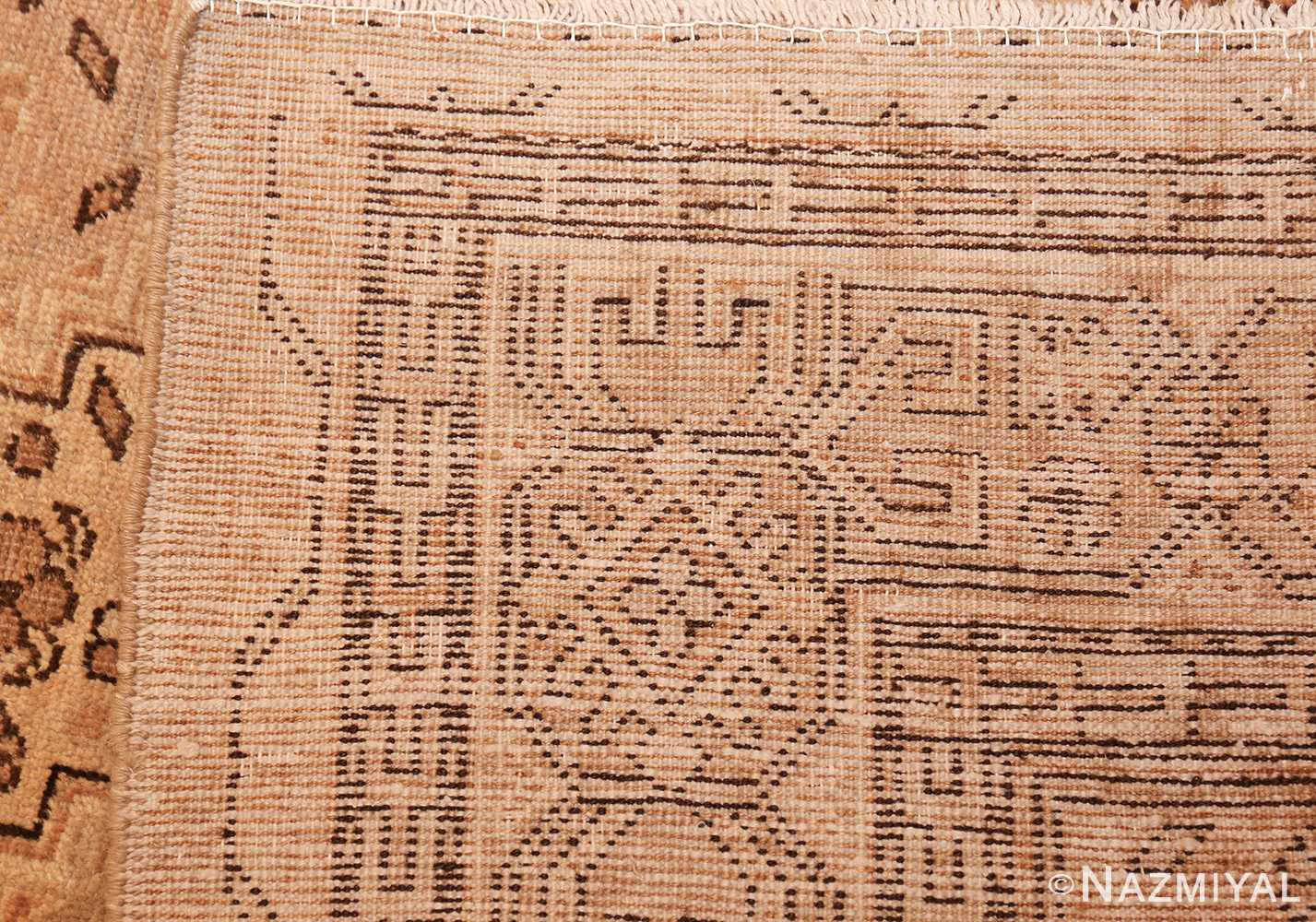 large antique khotan rug 42383 weave Nazmiyal