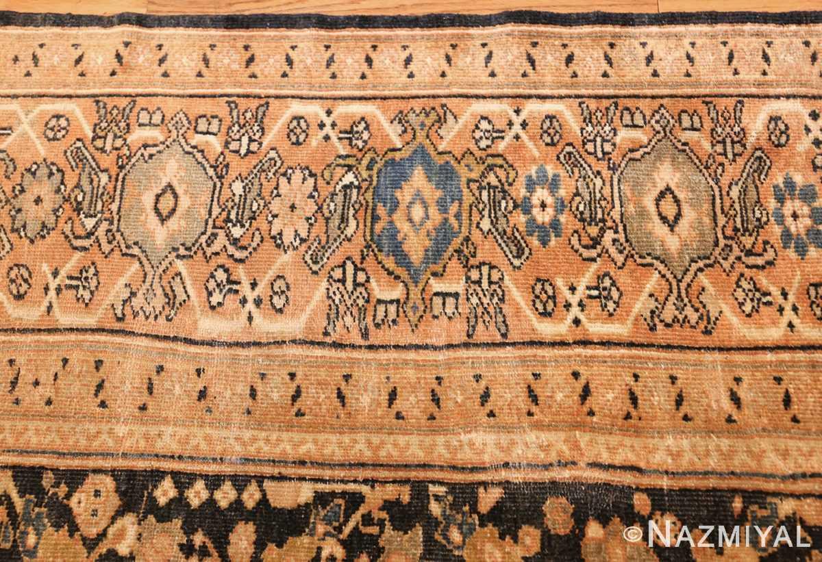 room size sultanabad antique persian mahal rug 42589 border Nazmiyal