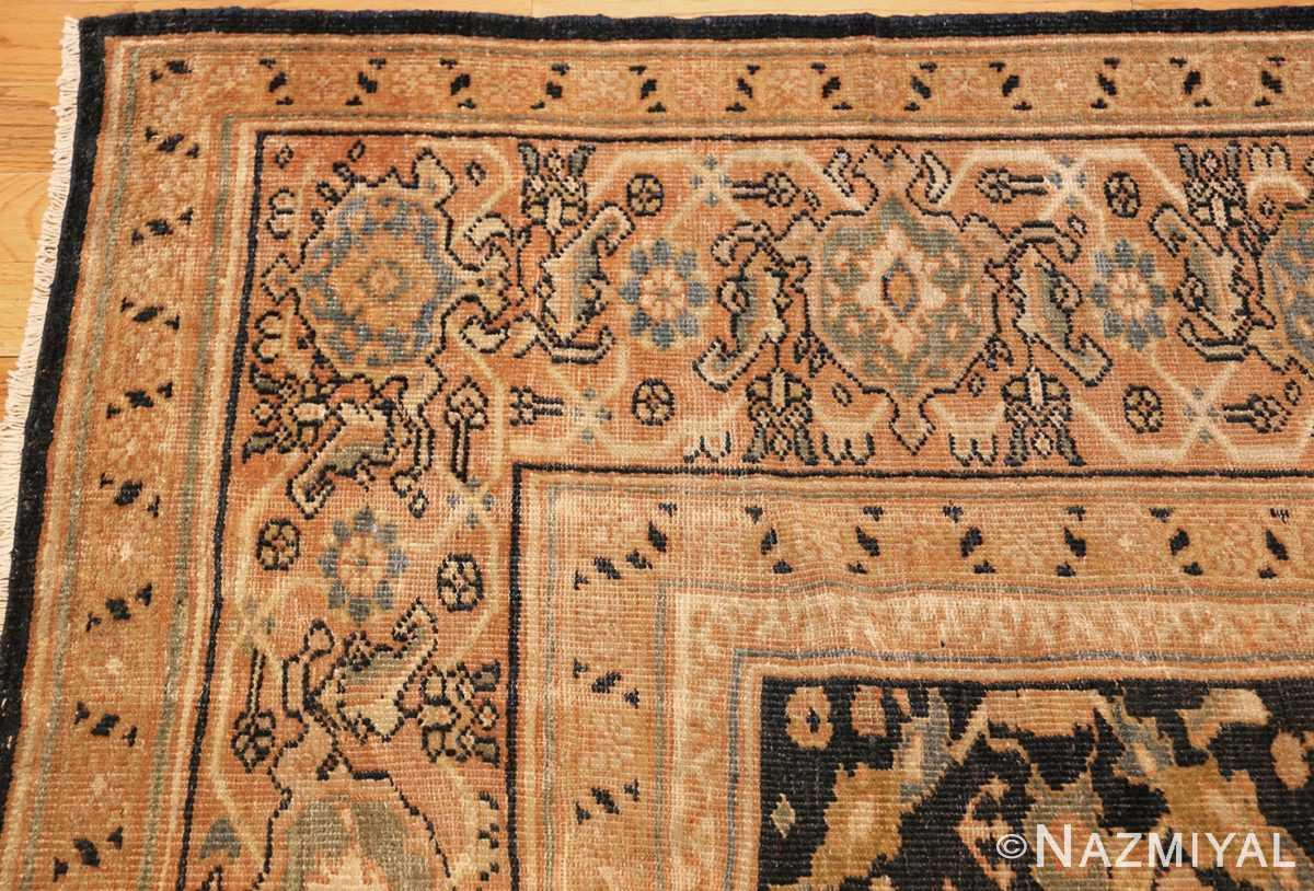room size sultanabad antique persian mahal rug 42589 corner Nazmiyal