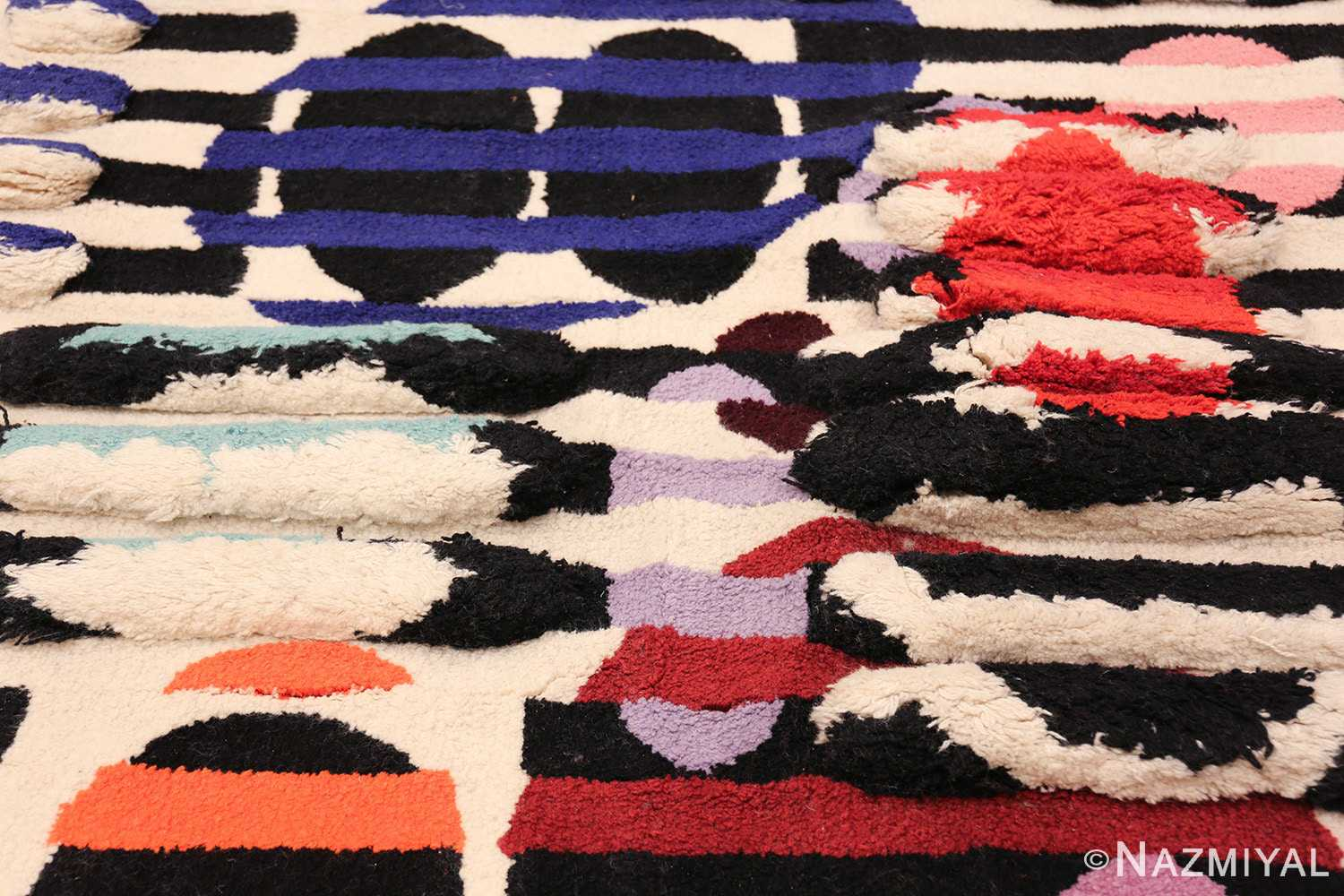 vintage deco wall tapestry rug by yaacov agam 42736 middle Nazmiyal
