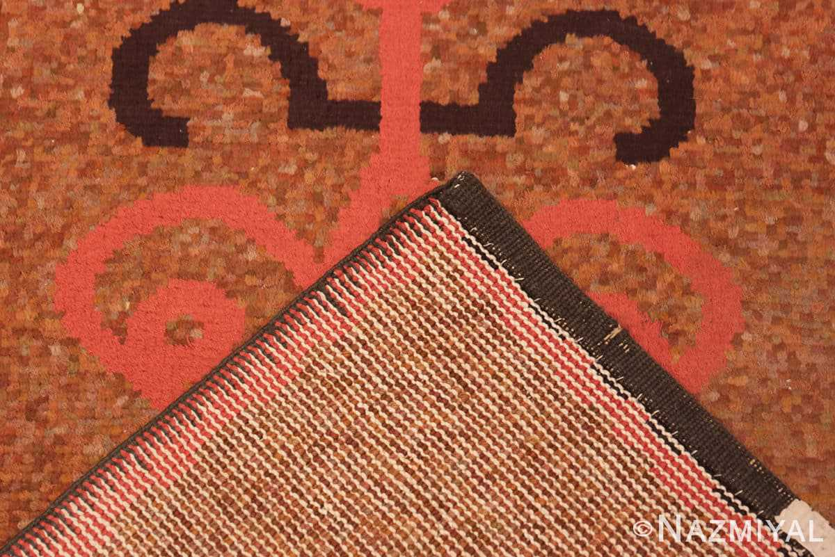 Weave Vintage small French Art Deco rug 42637 by Nazmiyal collection.