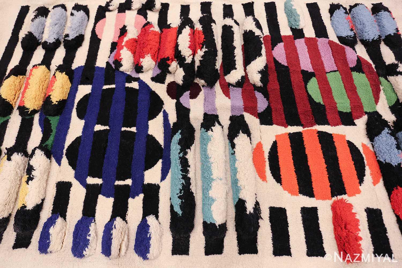 Yaacov Agam Wall Tapestry Rug #42736 - Nazmiyal