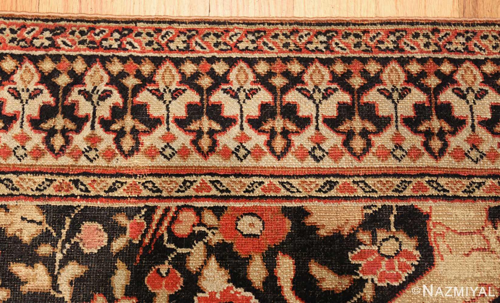antique khorassan persian rug 3244 birds Nazmiyal