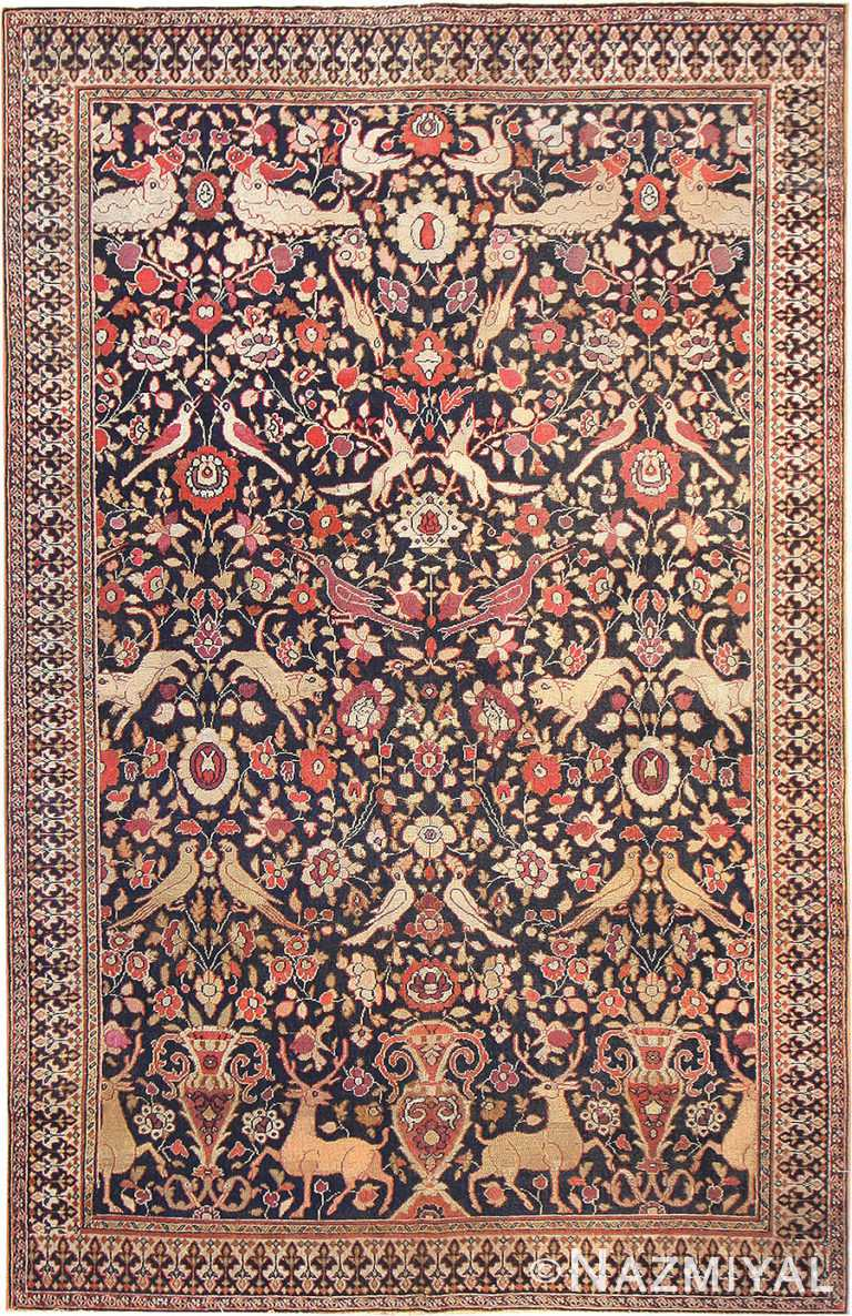 Antique Khorassan Persian Rug# 3244 by Nazmiyal Antique Rugs