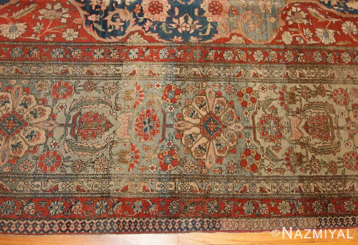 Antique Room Size Persian Mohtashem Kashan Rug 42624 (2)