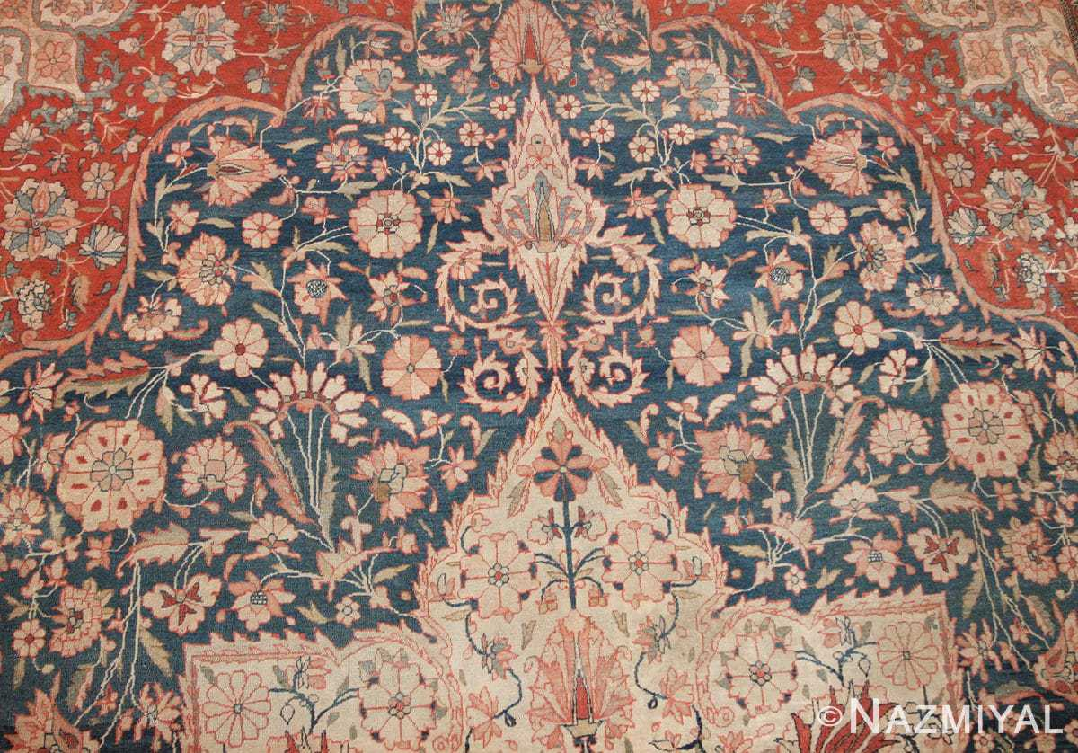 antique room size persian mohtashem kashan rug 42624 Nazmiyal 3 resized