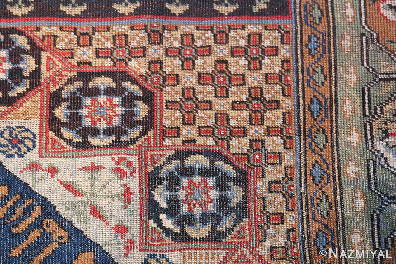 Antique Turkish Tuduc Mamluk Rug 42865 Closeup Nazmiyal