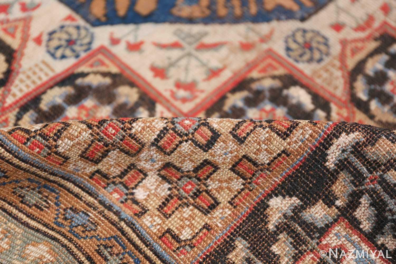 Antique Turkish Tuduc Mamluk Rug 42865 Geometric Pile Nazmiyal