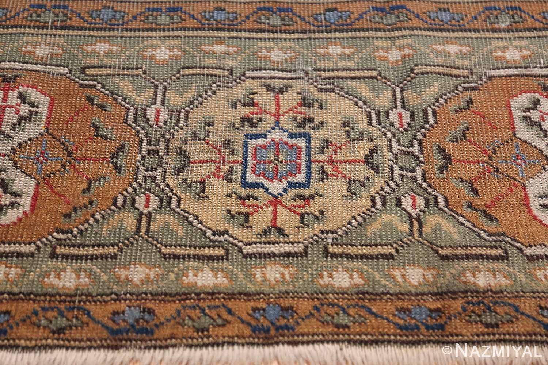 Antique Turkish Tuduc Mamluk Rug 42865 Golden Pattern Nazmiyal