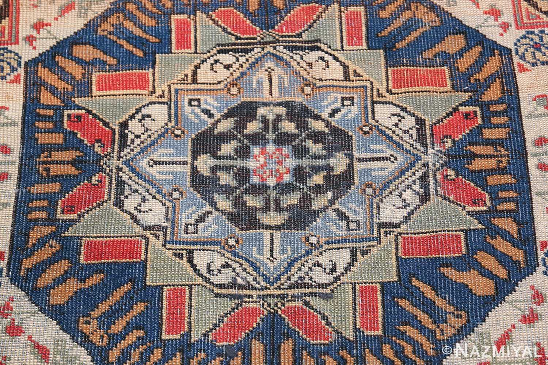 Antique Turkish Tuduc Mamluk Rug 42865 Middle Part Nazmiyal