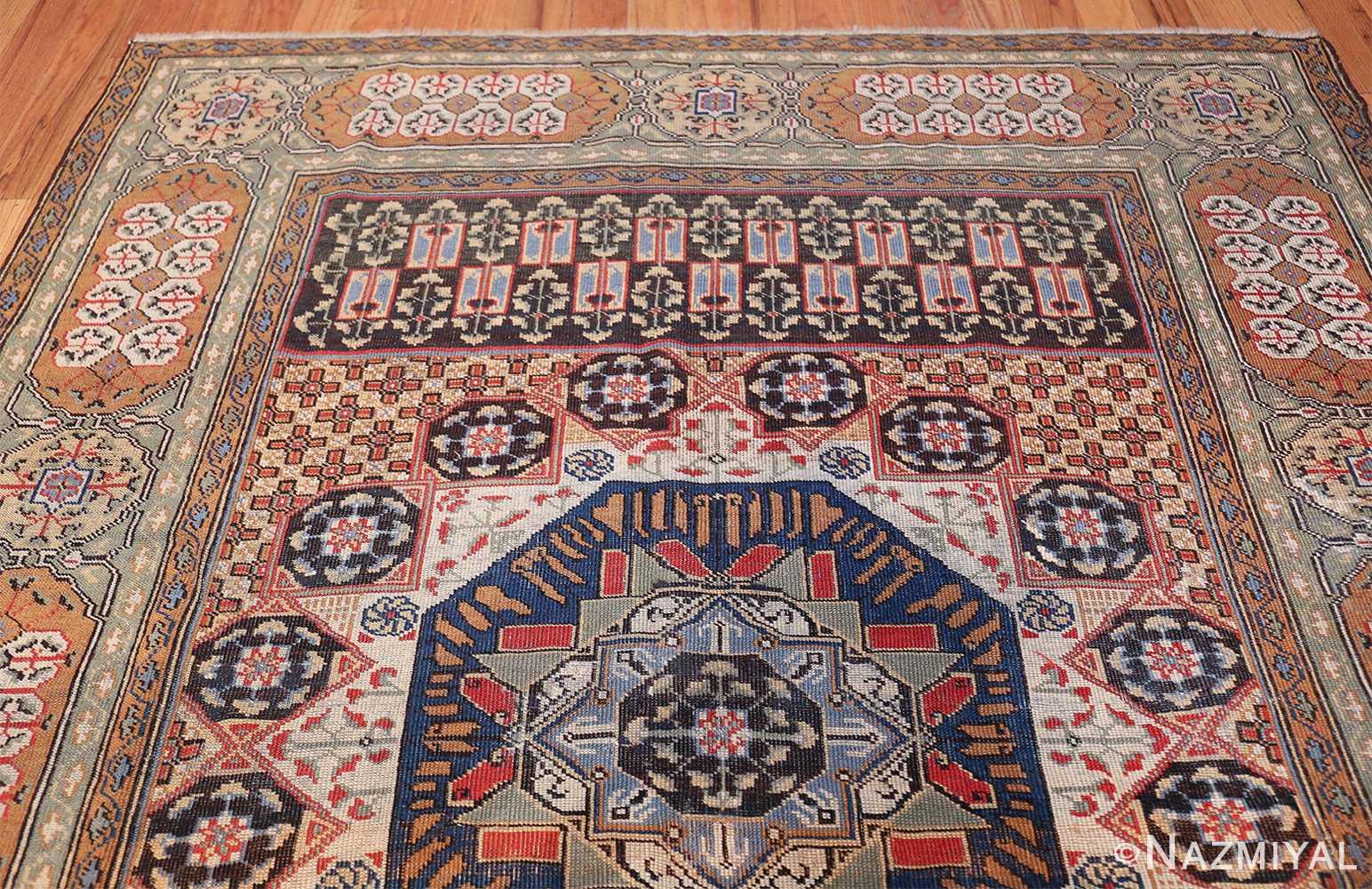 Antique Turkish Tuduc Mamluk Rug 42865 Top Design Nazmiyal