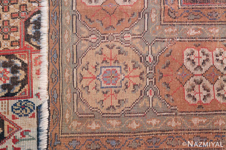 Antique Turkish Tuduc Mamluk Rug 42865 Woven Knots Nazmiyal