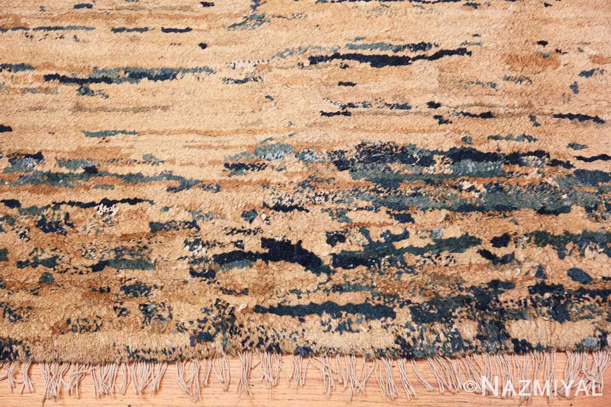 Border Antique Mongolian Oriental rug 42738 by Nazmiyal