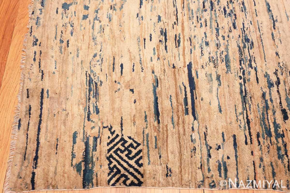 Corner Antique Mongolian Oriental rug 42738 by Nazmiyal