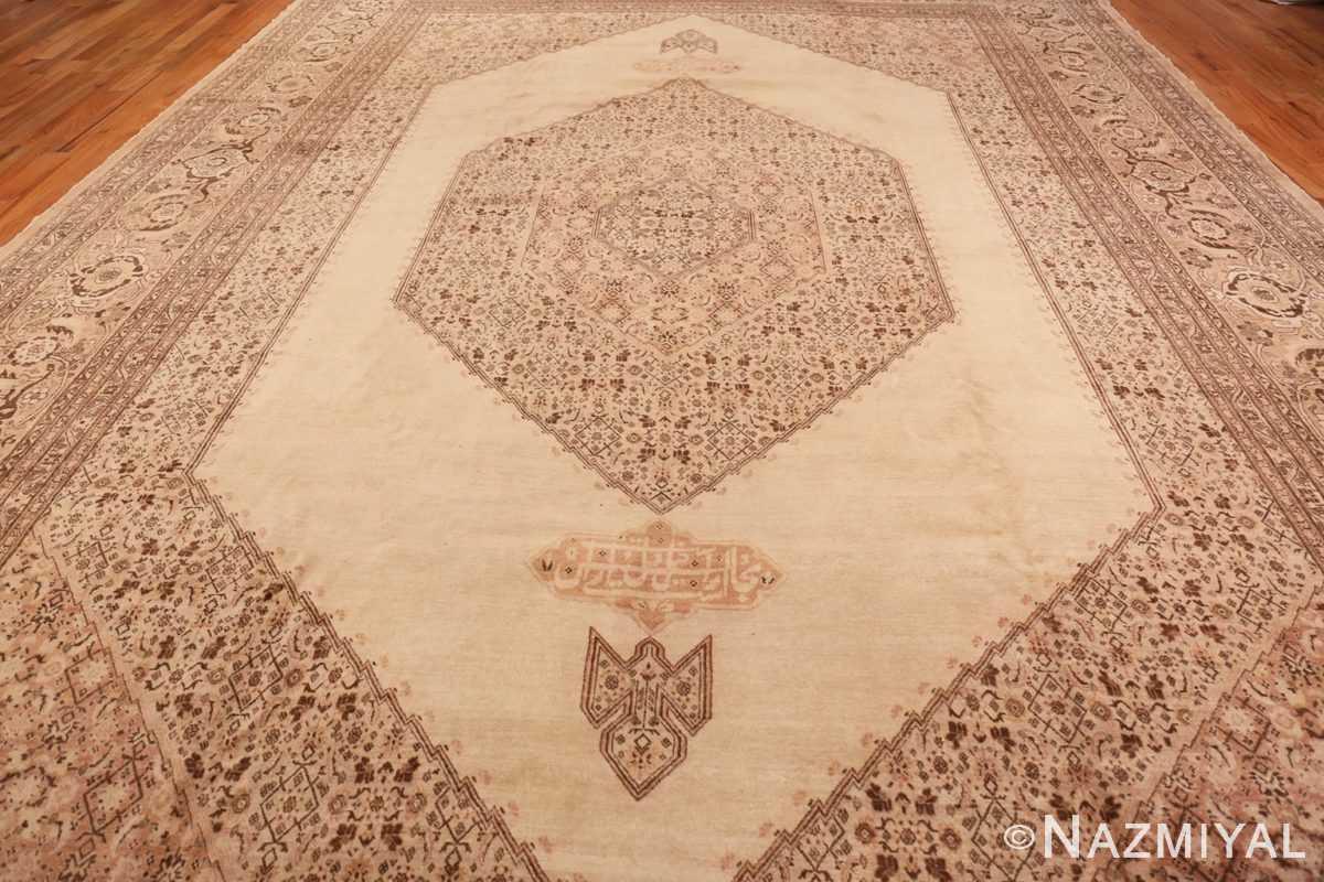 Field Antique Tabriz Persian rug 2904 by Nazmiyal