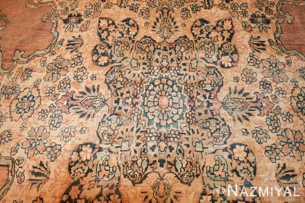 large oriental oversized antique kerman persian rug 3273 center Nazmiyal