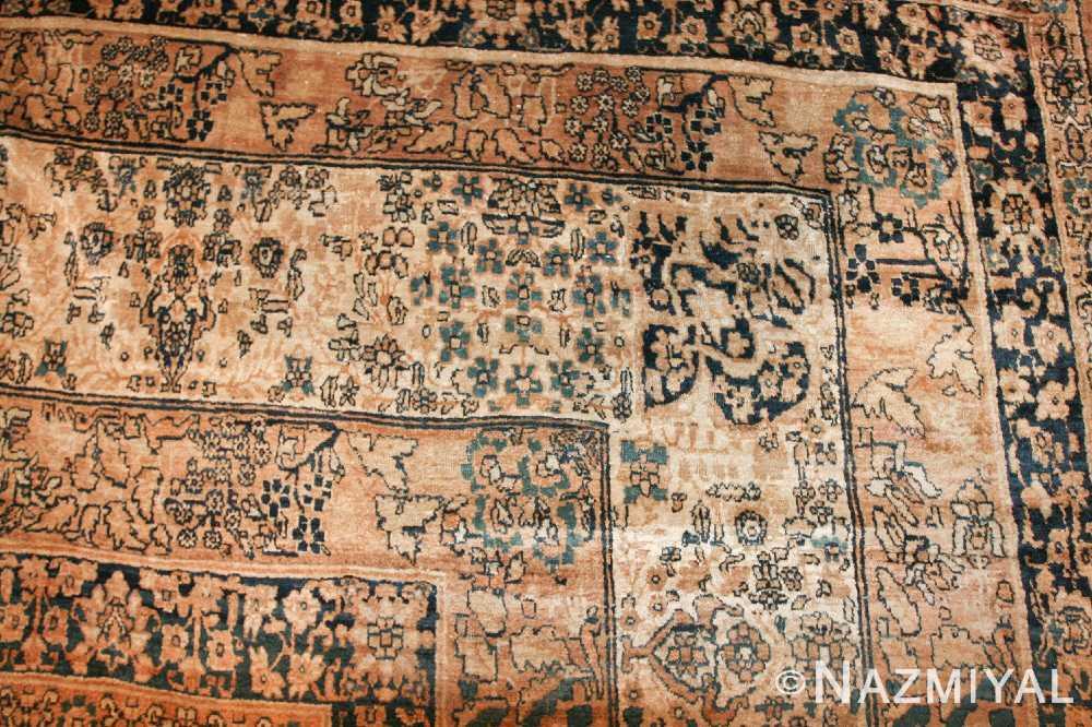 large oriental oversized antique kerman persian rug 3273 corner Nazmiyal