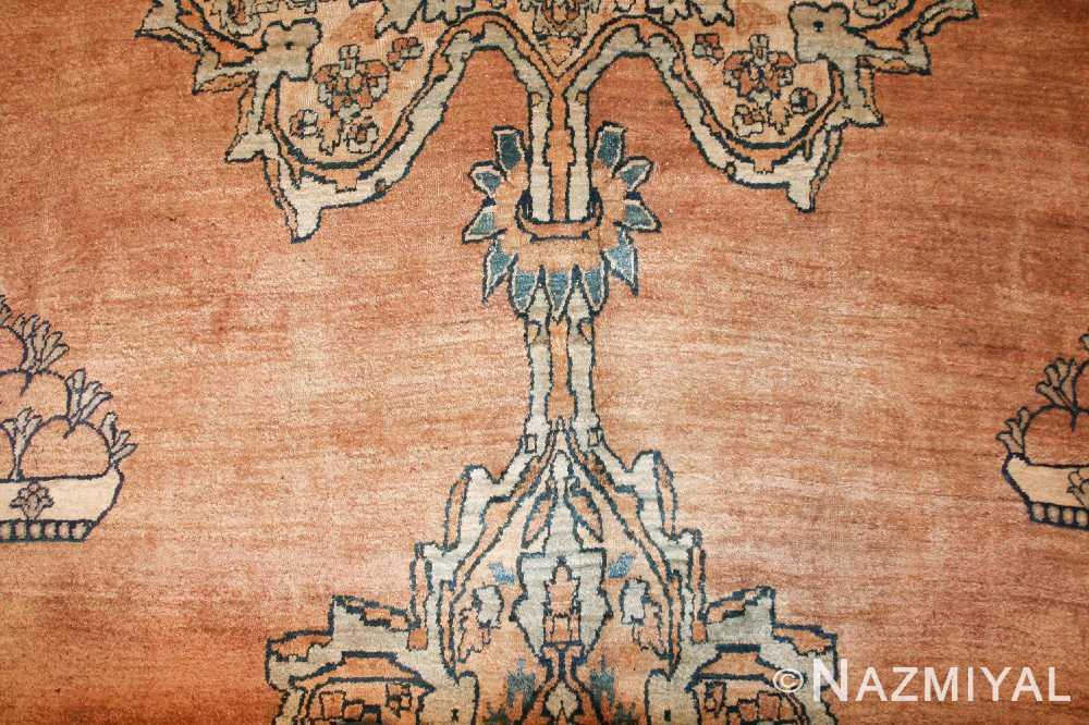 large oriental oversized antique kerman persian rug 3273 field Nazmiyal
