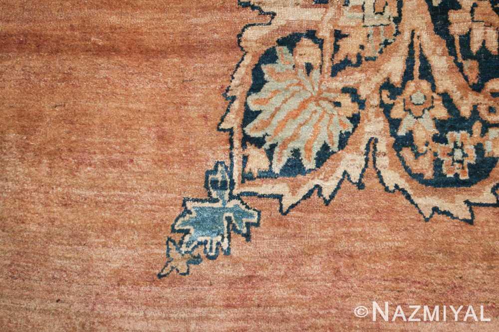 large oriental oversized antique kerman persian rug 3273 side Nazmiyal