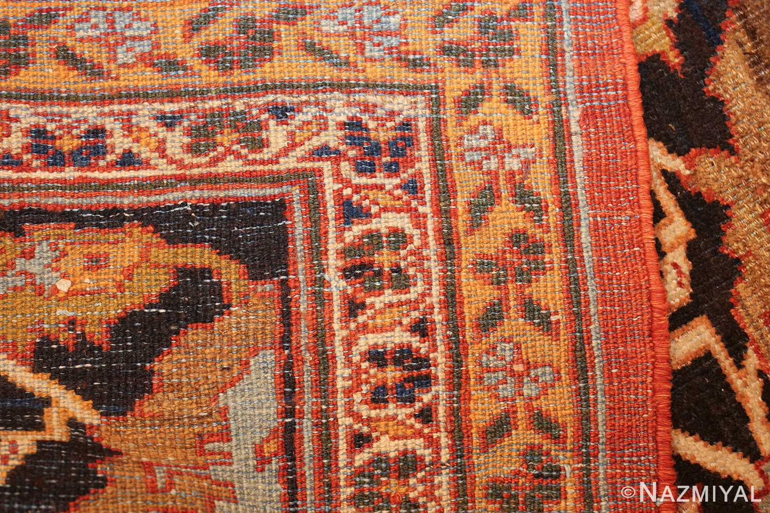 large oversized antique persian rust color sultanabad rug 42746 weave Nazmiyal