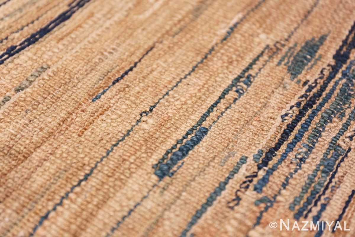Weave detail Antique Mongolian Oriental rug 42738 by Nazmiyal