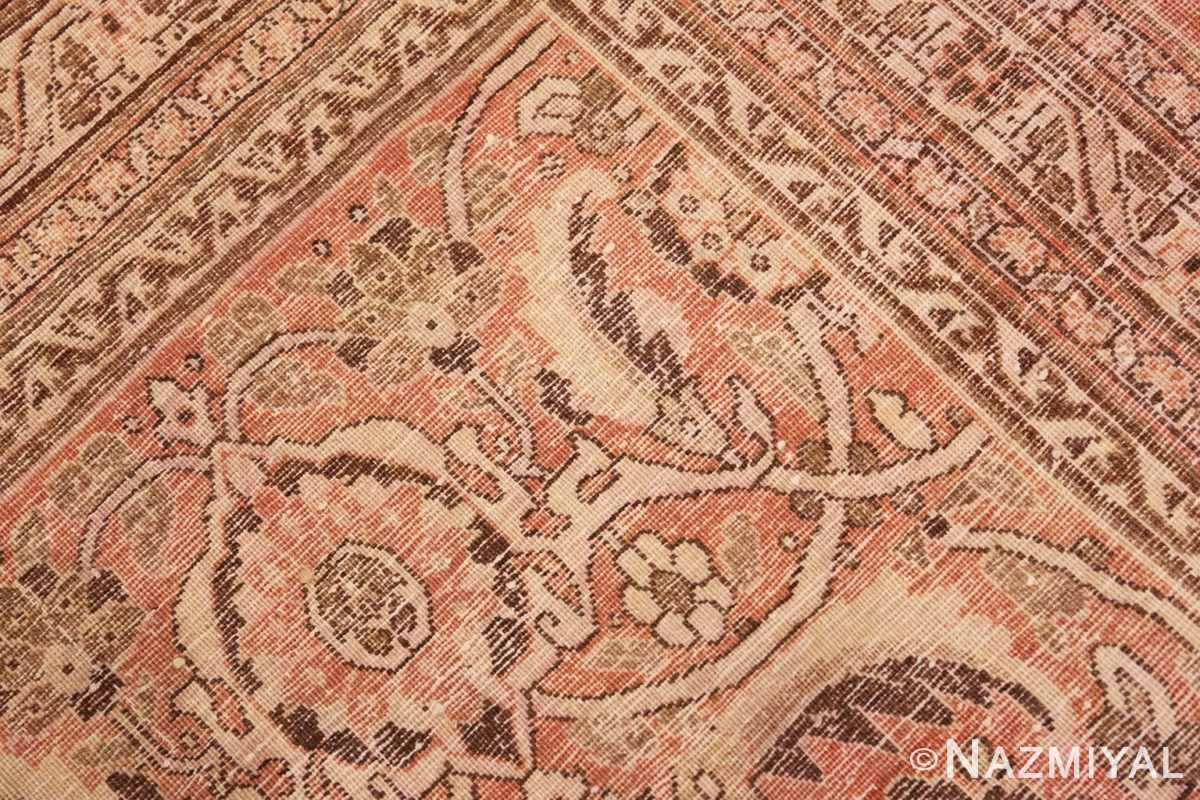 Weave detail Antique Tabriz Persian rug 2904 by Nazmiyal