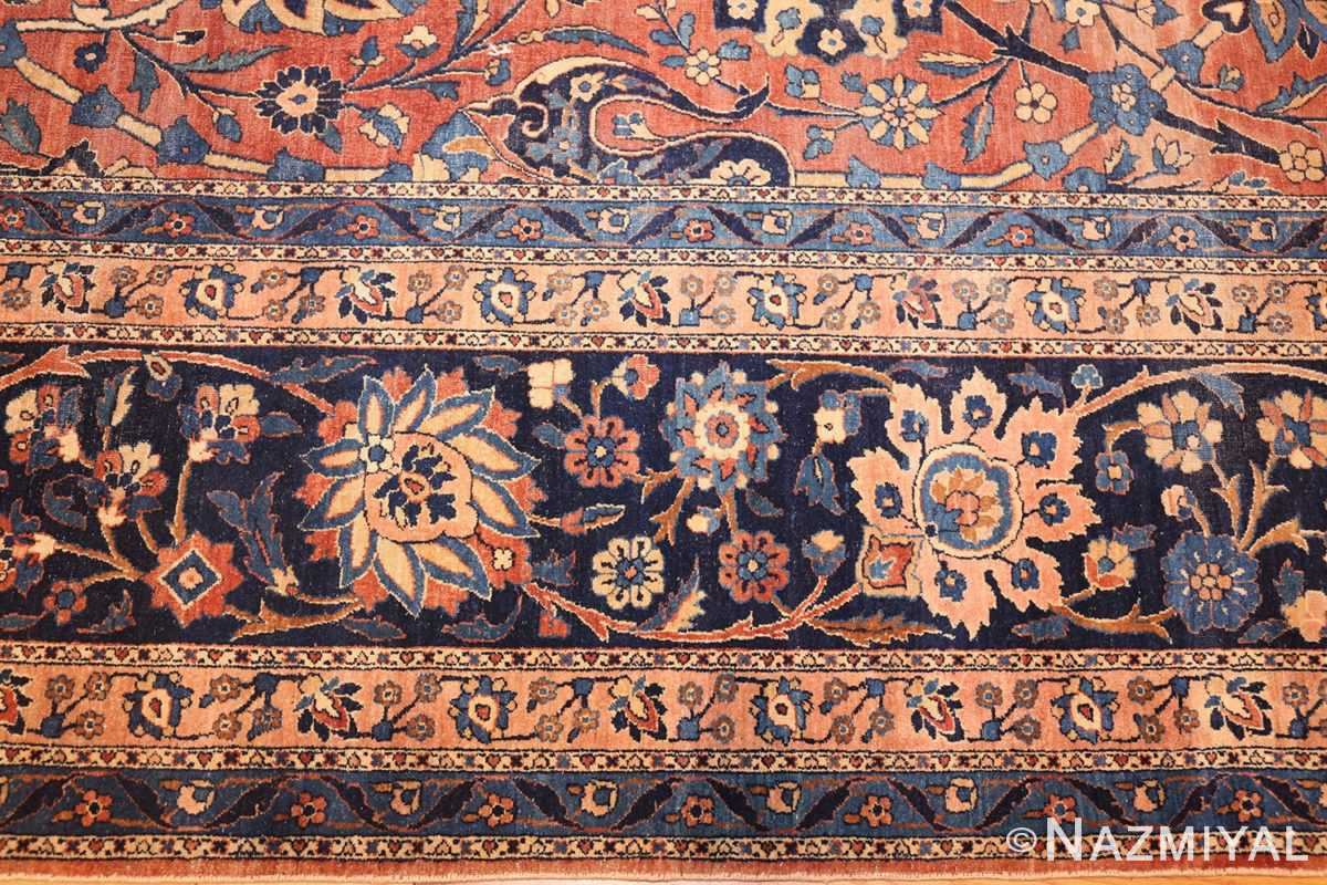antique kerman persian rug 42465 border Nazmiyal