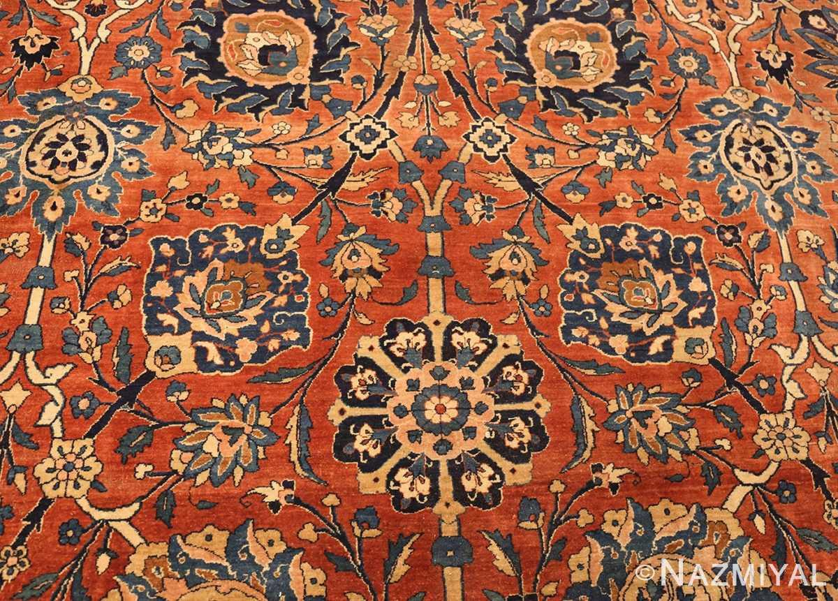 antique kerman persian rug 42465 field Nazmiyal