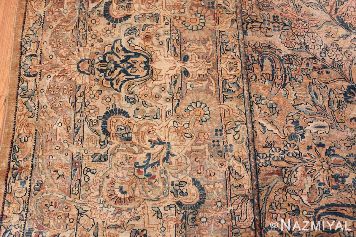 Antique Kerman Persian Rug 48986 Border Nazmiyal