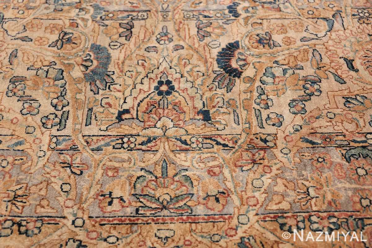 Antique Kerman Persian Rug 48986 Light Side Pattern Nazmiyal