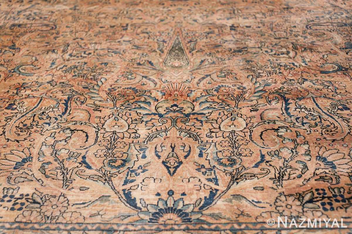 Antique Kerman Persian Rug 48986 Lower Pine Tree Nazmiyal