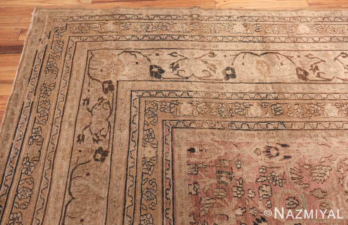 large oversized antique khorassan persian rug 40536 border Nazmiyal