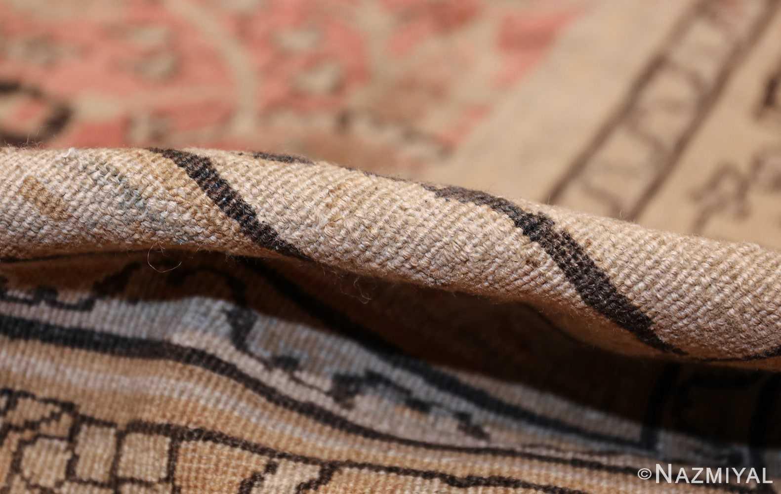 large oversized antique khorassan persian rug 40536 pile Nazmiyal