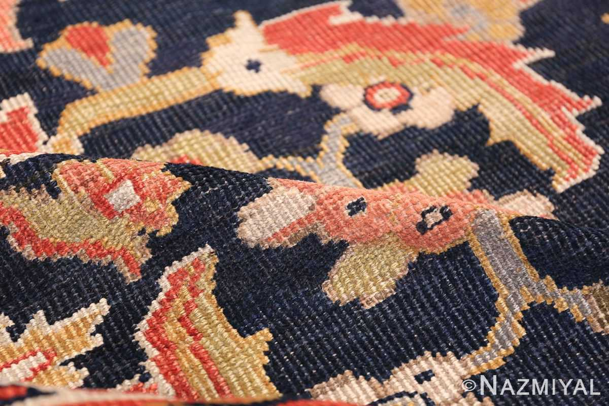 Oversized Antique Persian Ziegler Sultanabad Rug 3325 Floral Pile Nazmiyal