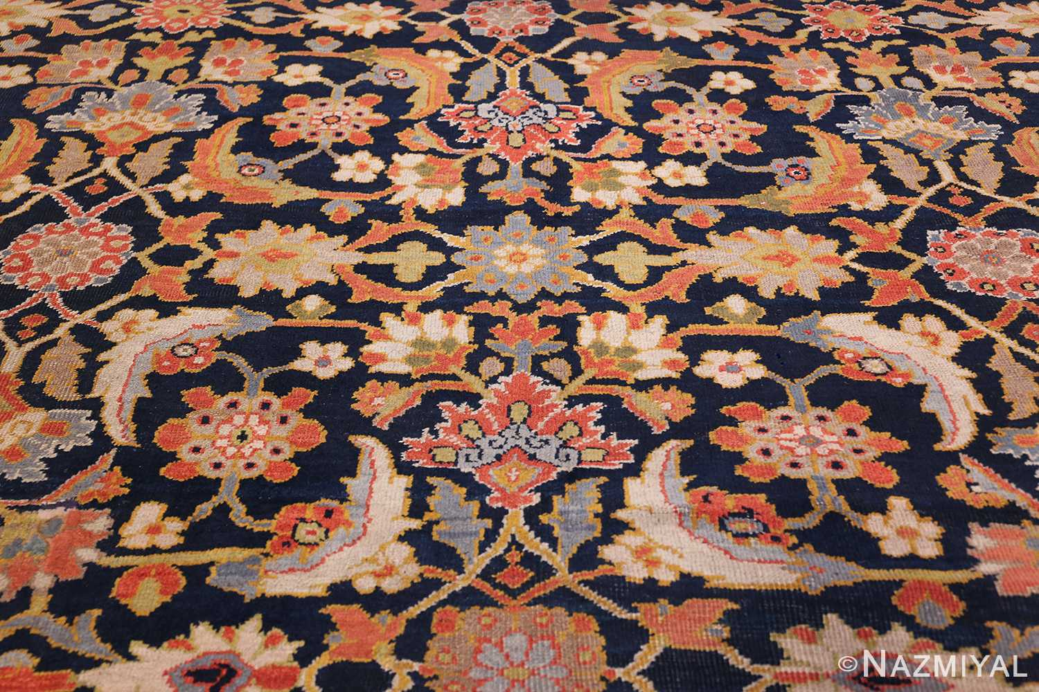 Oversized Antique Persian Ziegler Sultanabad Rug 3325 Middle Part Nazmiyal
