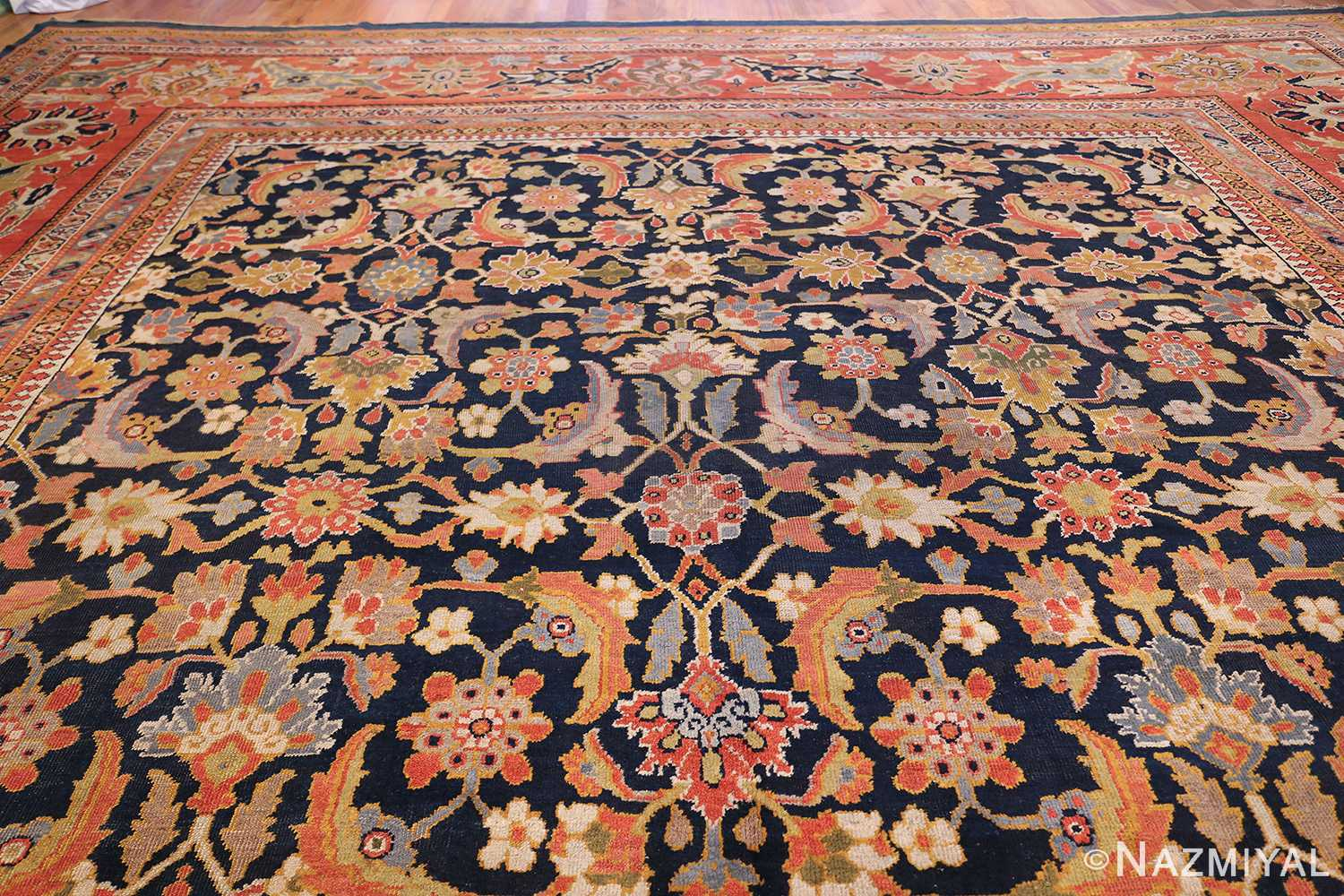 Oversized Antique Persian Ziegler Sultanabad Rug 3325 Top Design Nazmiyal