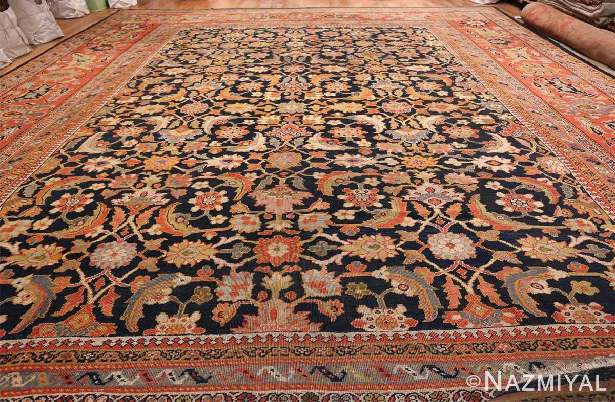Oversized Antique Persian Ziegler Sultanabad Rug 3325 Whole Design Nazmiyal
