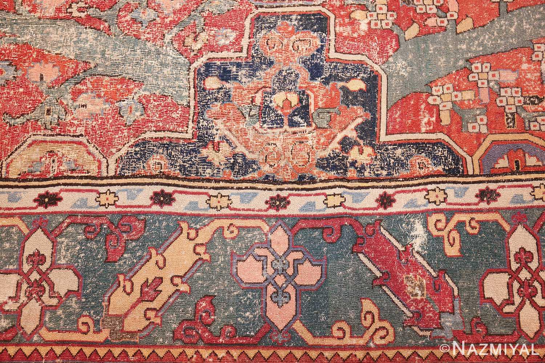 rare antique 17th century gallery size khorassan persian rug 3289 design Nazmiyal