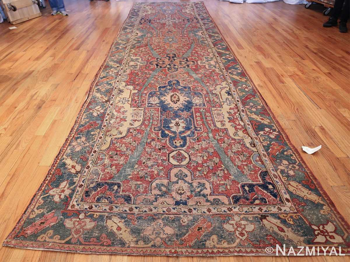 rare antique 17th century gallery size khorassan persian rug 3289 whole Nazmiyal