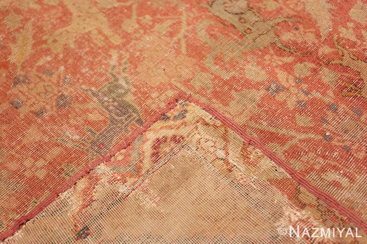 Weave Antique gallery size 17th Century Isfahan Persian rug 3338 by Nazmiyal
