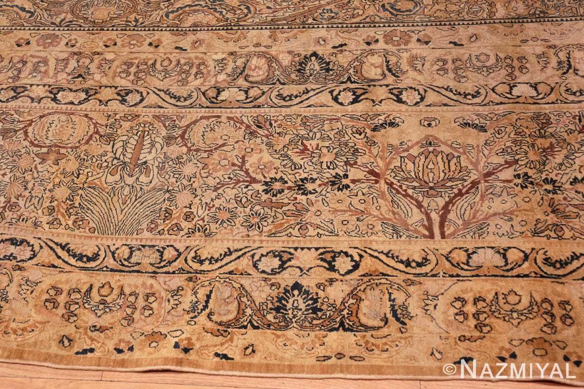 Border Large oversized Antique Persian Kerman rug 42880 by Nazmiyal