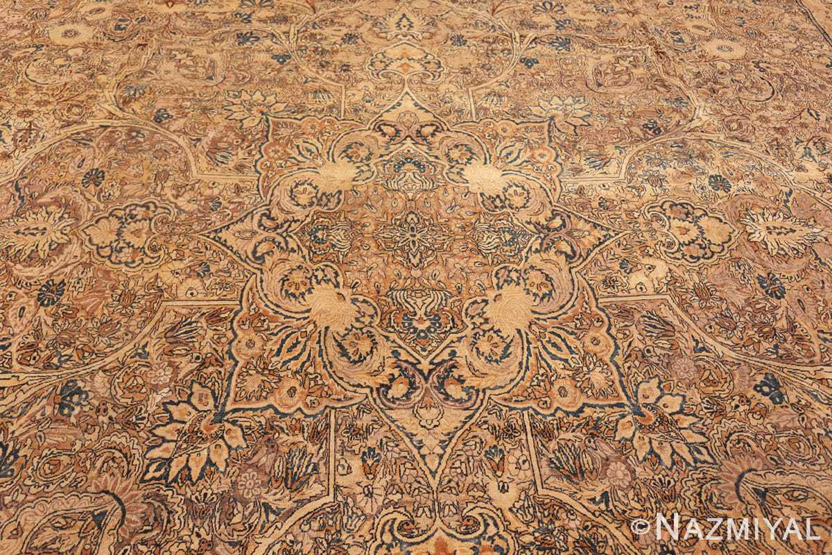 Center Large oversized Antique Persian Kerman rug 42880 by Nazmiyal