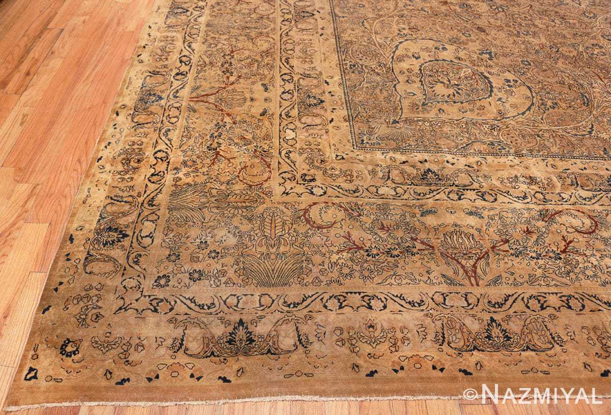 Corner Large oversize Antique Persian Kerman rug 42880 by Nazmiyal